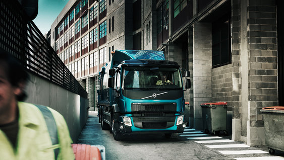 Volvo FE take you to previously inaccessible places in a smooth way