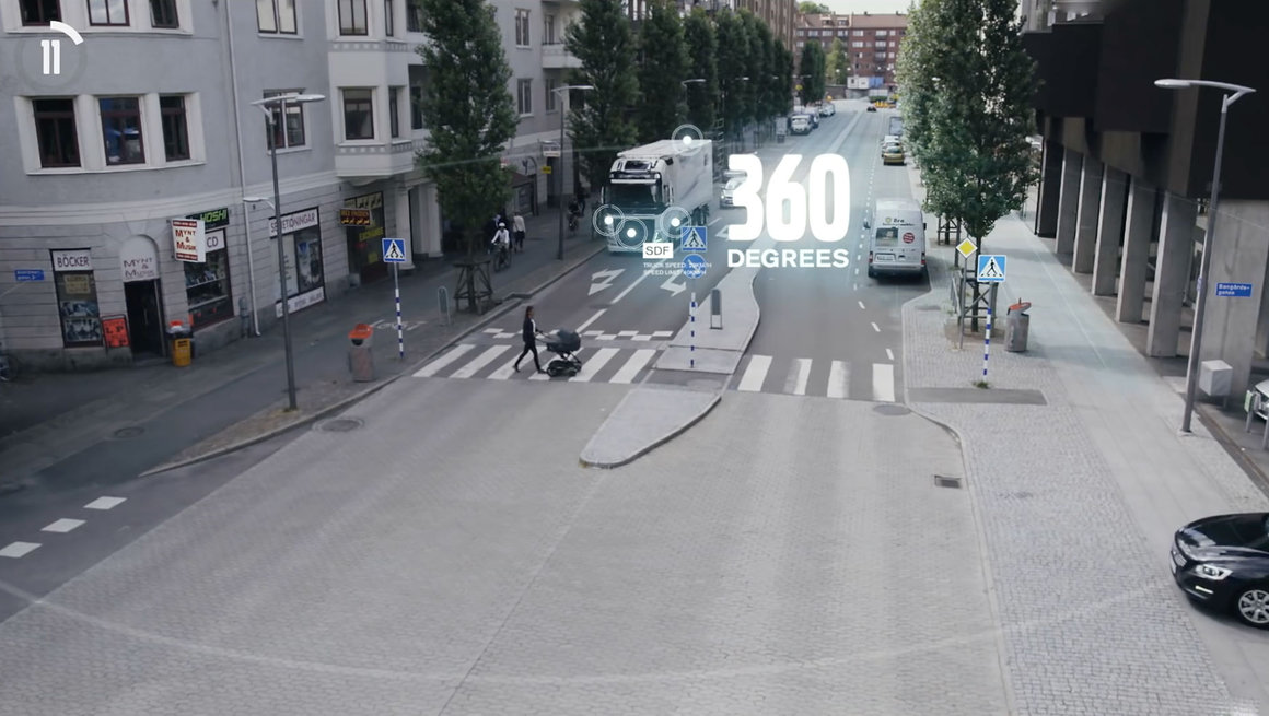 Volvo FE active safety systems